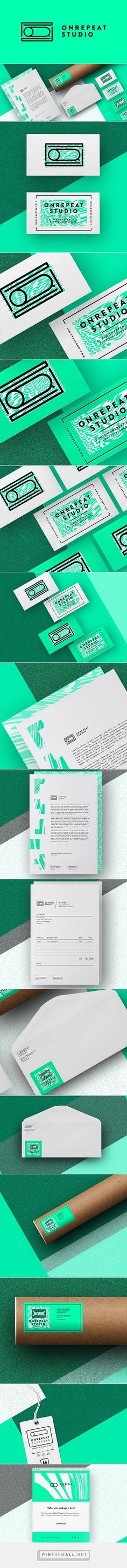 Onrepeat Creative Studio Self Branding | Fivestar Branding Agency – Design and Branding Agency & Curated Inspiration Gallery