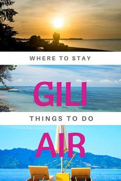 Gili Air Accommodation & Things to do - Thrifty Family Travels