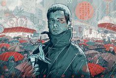 Blade Runner poster concept by Mateusz Kołek
