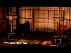 """Our Greatest Musical Achievement as a Species: """"Inspector Gadget"""" on Tesla Coils"""