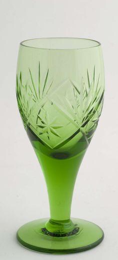 Finn glass i sjelden grønnfarge