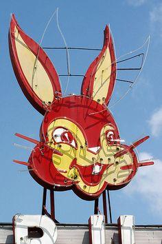 bunny bread sign
