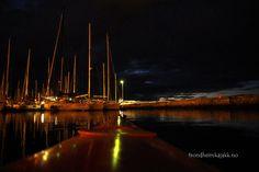 #kayak #night #Skansen