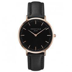 Rosefield Watch! The Bowery black #Rosefield #Watch  Shop now: www.surpresa.de