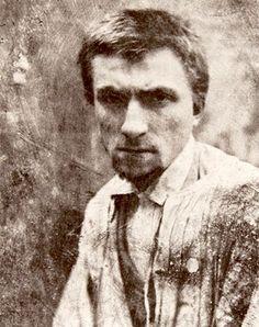 The sculptor Auguste Rodin in 1862, age 22.