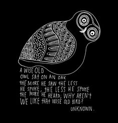 Wise Old Owl:  Artwork of Lisa Congdon