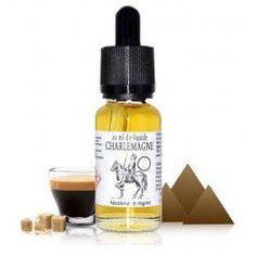 Le e-liquide Charlemagne par 814 est un mélange à base de tabac gourmand, Biscuit, Sucre roux, Liqueur de café. E Cigarette, Liqueur, Saveur, Biscuit, Vanilla Cream, Mint, Greedy People, Crackers, Biscuits
