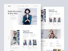 Fashion Web Design Inspiration 2017 – Muzli -Design Inspiration