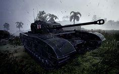 Herunterladen hintergrundbild wot, 4k, german tanks, world of tanks