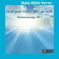 Deuteronomy 20:1  King James Version (KJV)   When thou goest out to battle against thine enemies, and seest horses, and chariots, and a people more than thou, be not afraid of them: for the LORD thy God is with thee, which brought thee up out of the land of Egypt.