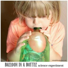 If your kids love science and magic, they will love the blow up a balloon in a bottle science experiment. Is it a trick or science that makes it work?