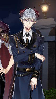 Cool Anime Guys, Handsome Anime Guys, Hot Anime Boy, Handsome Boys, Anime Demon, Manga Anime, Anime Art, Boy Character, Bishounen