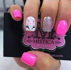 Coffin Nails, Gel Nails, Acrylic Nails, Nail Polish, Flamingo Nails, Unicorn Nails, Cute Pedicure Designs, Nail Art Designs, Dream Nails
