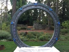 Guy Helps Build An Amazing Stargate For His Friend's Geek Wedding