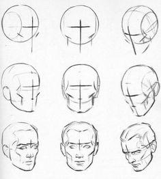 Karakalem İnsan yüzü çizimi nasıl çizilir karakalem çalışmaları dersleri teknikleri