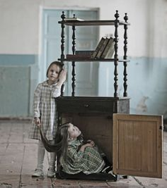 Sergey Loier photographed orphans at the municipal museum in Omsk. Thankfully by the time he finished the project, all of them had found families.