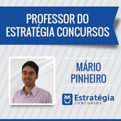 Mário Pinheiro é professor de Direito do Trabalho, Segurança e Saúde no Trabalho e Sociologia do Trabalho nos sites Estratégia Concursos e Eu Vou Passar. https://www.estrategiaconcursos.com.br/professor/mario-pinheiro-2200/
