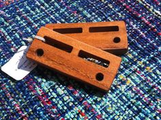 Pair of Handmade Lease Stick Holders Regular Size by SAORIstyle
