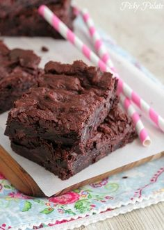 Made these last night... BEST BROWNIES EVER!