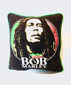 **Bob Marley** Crazy Cushion. More fantastic pillows, pictures, music and videos of *Bob Marley* on: https://de.pinterest.com/ReggaeHeart/