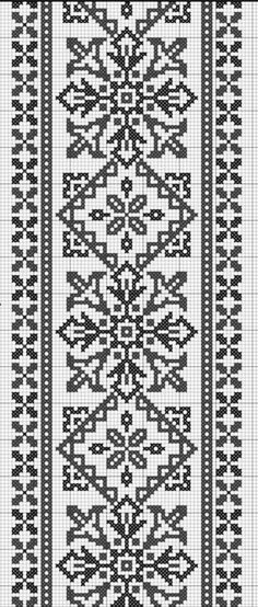 This Pin was discovered by Nil Cross Stitch Pillow, Cross Stitch Borders, Cross Stitch Flowers, Cross Stitching, Cross Stitch Patterns, Knitting Machine Patterns, Embroidery Patterns Free, Knitting Charts, Crochet Patterns