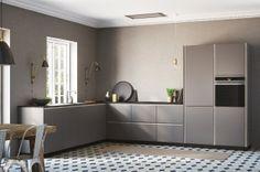 Tinta grå kök Kvik