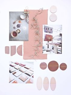 Mood boards: Ceramics Colour Palette Mood Board by Gudy Herder This Mood boards was shared by {Gudy Herder}. Find more Mood boards ideas and inspiration at{mine} Modelo Portfolio, Mise En Page Portfolio Mode, Fashion Portfolio Layout, Portfolio Design, Interior Ikea, Mood Board Interior, Moodboard Interior Design, Studio Interior, Interior Plants