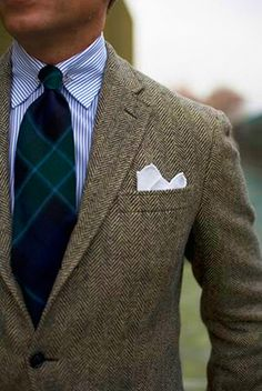 Herringbone Tweed.