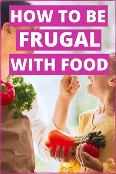 Being frugal with food are easy ways to save money. These frugal livings tips will improve your budget and help you to save more money or live debt free. Perfect for beginners. Implement these life hacks and start cooking healthy meals. Frugal Living Tips, Frugal Tips, Frugal Meals, Budget Meals, Save Money On Groceries, Ways To Save Money, Money Saving Tips, Meals Without Meat, Healthy Meals To Cook