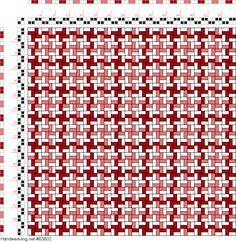draft image: Figurierte Muster Pl. XXII Nr. 2, Die färbige Gewebemusterung, Franz Donat, 2S, 2T