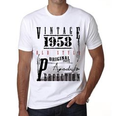 #birthday #tshirt #vintage #men #celebration #gift Make today so awesome with these tshirts! Now, online, here --> https://www.teeshirtee.com/collections/vintage-birthday-white/products/1958-birthday-gifts-for-him-birthday-t-shirts-mens-short-sleeve-rounded-neck-t-shirt-1