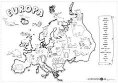 Zwierzęta Europy - Printoteka.pl