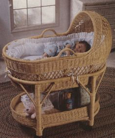 My Bassinet (but I have it in white which doesn't seem to exist online)
