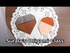 Origami - Chestnut & Acorn / 종이접기 - 밤과 도토리