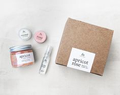 Apricot Rose Beauty Gift Set // Skin Care Kit // Mother's Day Gift // Spa Gift Set