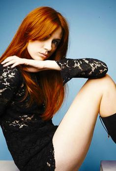 The hottest ginger in the world... Karen Gillan. By far the most beautiful lady ever.