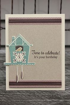Birthday Time Card