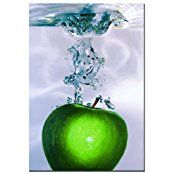 Kitchen wall decor - Contemporary apple wall art. Visit us for more information and where to buy.