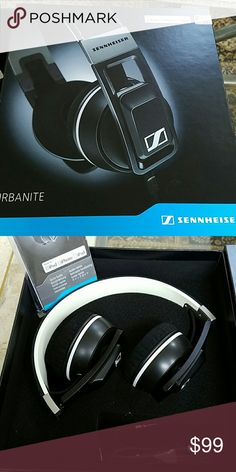 Sennheiser Urbanite headphone Step up and step out, it's time to let your ears be loved. Sennheiser URBANITE headphones are the new choice for great sound, deep bass, and urban style on the move. URBANITE On-Ear headphones deliver an intense club sound, serving up massive bass but with Sennheiser' s uncompromising clarity through the entire frequency range. URBANITE headphones are for those that love their tunes, love to look good, and respect great sound.  Used one time basically new…