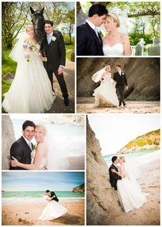 Wedding Venue Cornwall   Beach Weddings Cornwall   Lusty Glaze Beach, Newquay