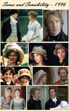 Sense and Sensibility.  Wonderful film, superb acting – particularly by Emma Thompson, who also wrote the perfect script.