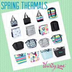 Thirty One Spring Summer 2018. Spring Thermals
