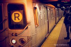 NYC Subway-- i've been told it trumps the people watching aboard the CTA or the Lightrail Places Ive Been, Places To Go, Brooklyn Girl, Empire State Of Mind, I Love Nyc, Nyc Subway, Beautiful Places In The World, Amazing Pictures, City Life