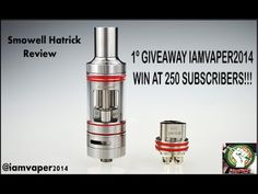 Smowell Hatrick Review & GIVEAWAY Announcement (ENGLISH) | Iamvaper