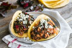 Kale, Caramelized Onion and Quinoa Tacos [Vegan, Gluten-Free] | One Green Planet