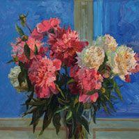 Art Web, Web Gallery, Academic Art, Russian Painting, London Art, Museum Collection, Sunflowers, Online Art, Peonies