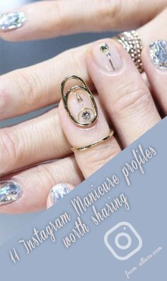 11 Manicure Instagram accounts worth sharing Nail Art Instagram, Instagram Accounts To Follow, Cool Nail Art, Fun Nails, Accounting, Manicure, Jewelry, Imagination, Inspiration