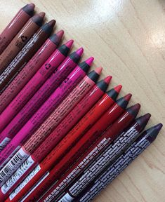 Beauty Broadcast: NYX Slide On Lip Pencils: Swatches & Favorites!