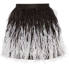 Alice + Olivia Lauryn feather-embellished tulle mini skirt (21 505 UAH) ❤ liked on Polyvore featuring skirts, mini skirts, bottoms, faldas, alice + olivia, black, black ruffle skirt, black skirt, short tulle skirt and short mini skirts