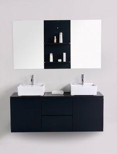 Plus de 1000 id es propos de meuble salle de bain design - Placard salle de bain pas cher ...